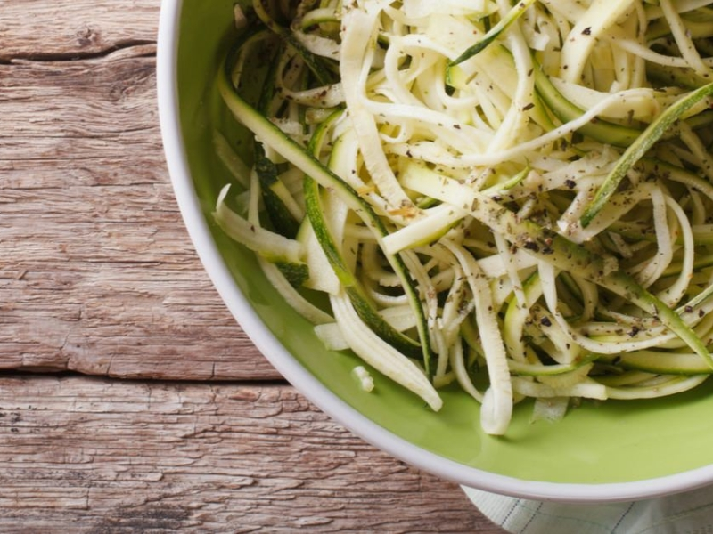 Spagetti med zucchini och ricotta - Galbani