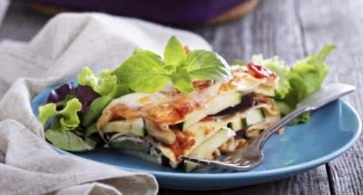 Aubergine- och mozzarellapaj - Galbani