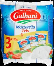 Galbani Mozzarella Trepack 3 x 125 g - Galbani